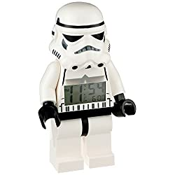 Star Wars Stormtrooper alarm clock total length 23cm (parallel import goods)