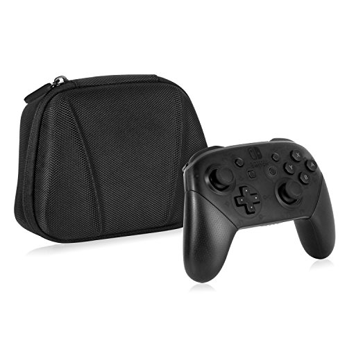 Nintendo Switch Pro Controller Case - Younik Hard Shell Carrying Case for Nintendo Switch Pro Controller (Black)