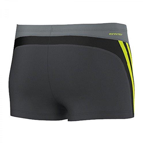 NEU Inf Inspiration Boxer Adidas Size 2 Herren Schwimmen Dunkelgrau