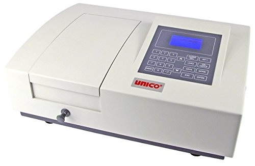 UNICO S-2150UV UV/Visible Spectrophotometer, 4 Nm Band pass, Wavelength Range 200-1000 Nm, Power Input 100-240V