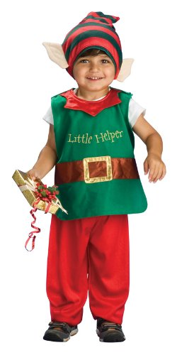 [Child's Little Elf Costume, Toddler] (Childrens Santas Helper Costume)