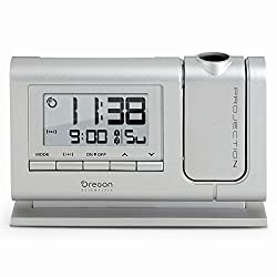 Oregon Scientific Projection Clock with Atomic Time Alarm Calendar LCD Display