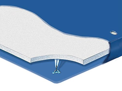 Shallow Fill Waterbed - Twin Shallow Fill Waterbed Mattress with Liner and Fill&Drain Kit