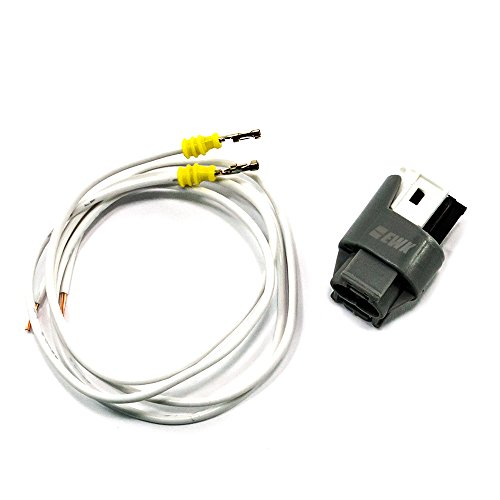 EWK External Air Ambient Temperature Temp Sensor Socket Plug and Wire Kit for BMW MINI Bmw Outside Temperature Sensor