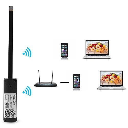 Wireless Camera Nanny Home Cam WiFi IP Pinhole DIY Digital Video Camera Micro DVR
