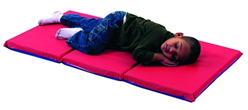 - Rest Mat (3 Section 24 x 48 x 2 - Red and Blue in 5 Pack)