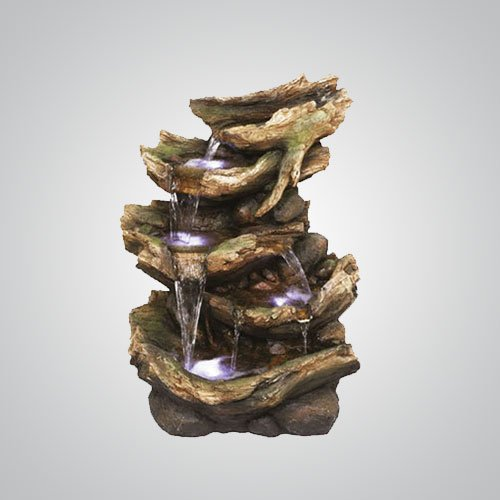 6 Fall Driftwood Water Feature Self Contained