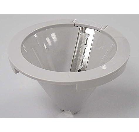 Kenwood - Cono disco para espaguetis, 2 mm, para robot en espiral FGP20, FGP203, FGP204: Amazon.es: Hogar