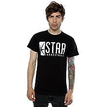 DC Comics Men's The Flash STAR Labs T-Shirt