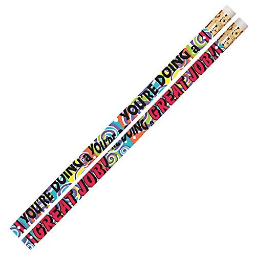 Musgrave Pencil MUS2469G You're Doing A Great Job Motivational Pencils (Pack of 144) [並行輸入品] B07K9P7XYK
