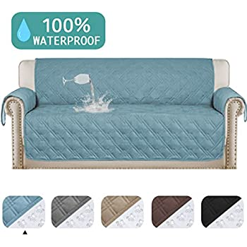 Wondrous Turquoize 100 Waterproof Oversized Quilted Sofa Cover For Leather Couch Protector Dog Sofa Slip Cover Protector For Living Room Stay In Place Pet Gamerscity Chair Design For Home Gamerscityorg