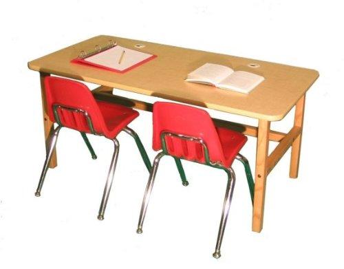 Wild Zoo Side by Side Desk - Maple by Wild Zoo