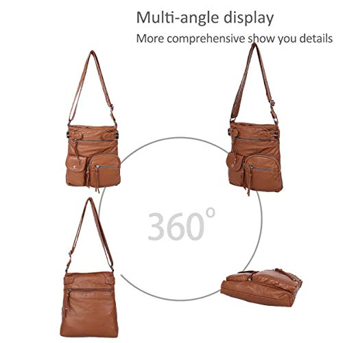Brown the bags handbags bags over simple DORIS Women hobo messenger NICOLE Cross shoulder body amp; qOU6a6