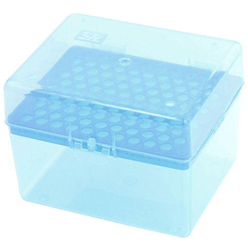 - Uxcell a14051500ux0501 Rectangular 100 Positions Laboratory 1000UL Pipette Pipettor Tip Box