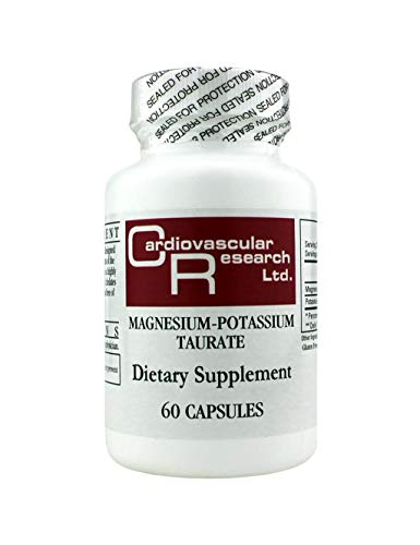Cardiovascular Research Magnesium Potassium Taurate, White, 60 Count