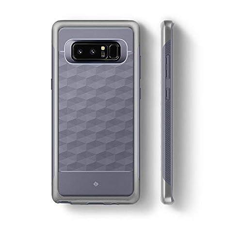 e8e1080b3a8 Caseology Funda Galaxy Note 8, [Serie Parallax] Protector Delgado de Doble  Capa Protección Diseño geométrico [Océano Gris: Amazon.es: Electrónica