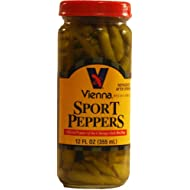 VIENNA ® SPORT PEPPERS, 12 OZ, FOR CHICAGO DOGS