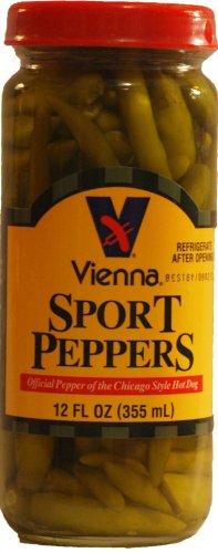 VIENNA ® SPORT PEPPERS, 12 OZ, FOR CHICAGO DOGS ()