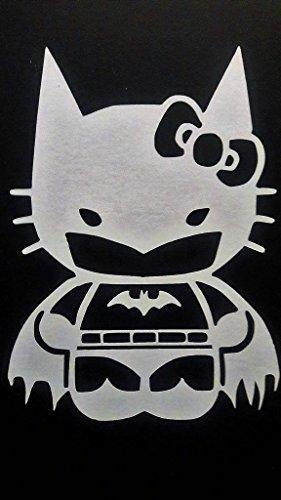 Batgirl Batman Inspired Comics Vinyl Decal Sticker|WHITE|Cars Trucks Vans SUV Laptops Wall Art|5.5