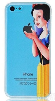 custodia iphone 5s biancaneve