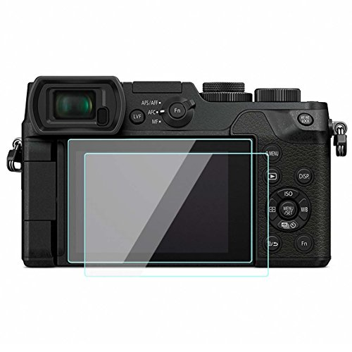 2 Pack Panasonic DMC-GX8 Screen Protector Tempered Glass for Panasonic DMC-GX8 Digital SLR Camera