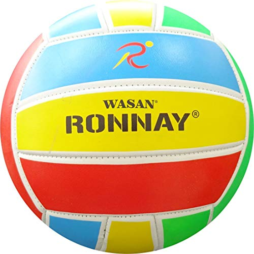 Wasan Ronnay Volleyball Multicolour Size 5-12 Years and Above