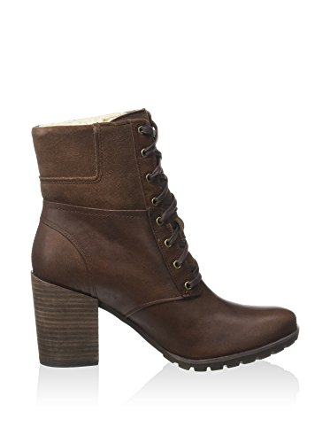 Timberland Damen swazey Warm Lined WP Stiefeletten Dark Brown