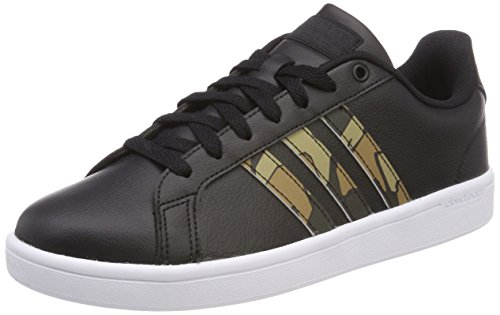adidas Herren Cloudfoam Advantage Sneaker, Schwarz (Core Black/core Black/night Cargo F15 Core Black/core Black/night Cargo F15)