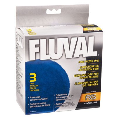 Buy fluval fx5 fine filter polishing pad 3-pack