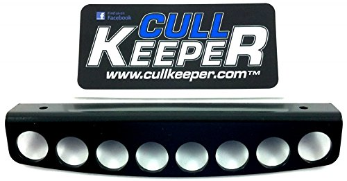PROcise Outdoors Cull Keeper Professional Tournament Angler Fish Culling System Buoy Keeper Works Great With Ardent SmartCull & Berkley Cull System (8 Big Hole Bracket)