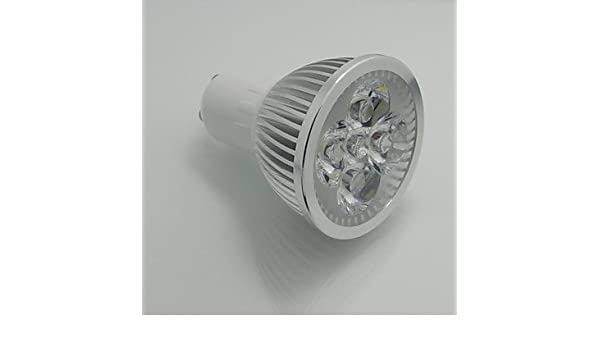 HJLHYL MND Blanco c¨¢lido/Blanco Natura, Regulable) - GU10 7 W, 110V - - Amazon.com