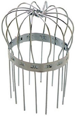 Peak Products America 1620 Chef Hat Gutter Pipe Strainer, Galvanized, 4-In. - Quantity 50 by PEAK PRODUCTS AMERICA