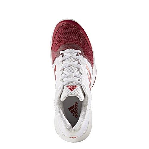 adidas Barricade Club W, Zapatillas de Tenis para Mujer Varios colores (Ftwbla / Rubmet / Rubmis)