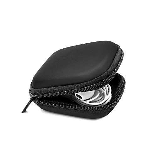 Headphone Case Hard Protective Travel Carrying Case for bluetooth wireless Headset Earbuds Earphone AirPods Keep Headsets away from Damaged Earphones Carrying Case
