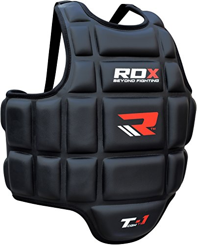 Rdx Boxing Chest Guard Mma Body Protector Martial Arts Rib