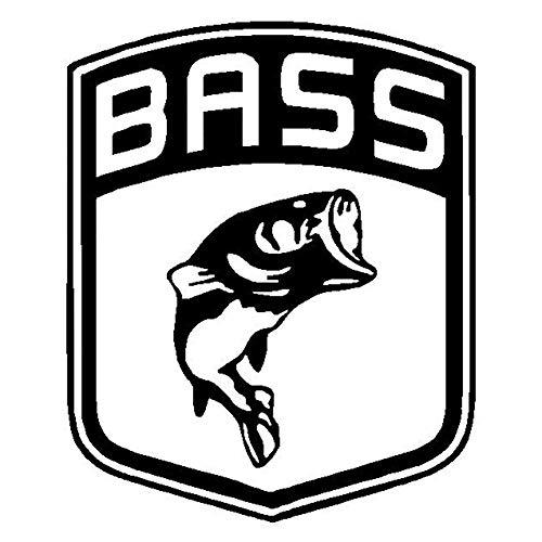 xxiaoTHAWxe Fashion Bass Fish Car Truck Vehicle Body Window Sticker Reflective Decal Decor - Black (Body Window)