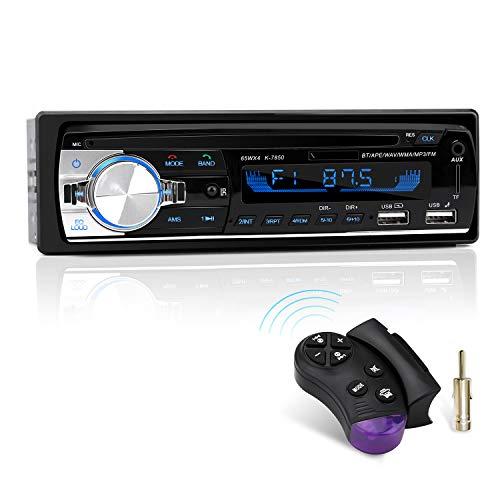 Autoradio mit Bluetooth Freisprecheinrichtung und Lenkrad-Fernbedienung, 1...