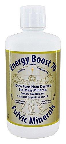 Morningstar Minerals Energy Boost 70 Fulvic Minerals 32 fl oz 946 ml