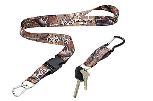 Realtree AP Camo Neck Lanyard and Key Ring Combo