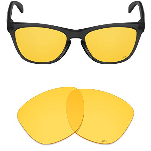 Mryok+ Polarized Replacement Lenses for Oakley Frogskins - HD Yellow