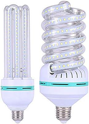 Bombillas LED 5 W7 W azulejos Ledg45 bombilla pequeña E27 rosca mágico Bean candelabro foco plástico transparente 5 W7 W azulejos, 48, U type 85-265V