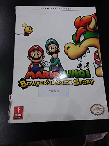 Mario & Luigi Bowser's Inside Story, Premiere Edition (Prima Official Game Guide)