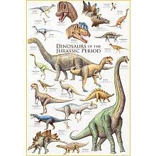 Brachiosaurus Poster - Dinosaurs - Jurassic Period Poster 24 x 36in