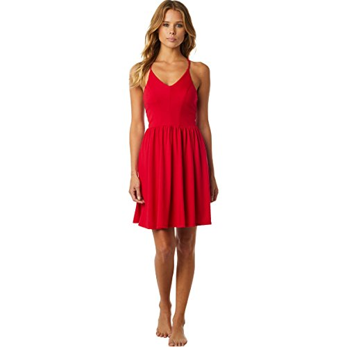 Fox Racing Women's Finish Line Dresses,Small,Bright Red