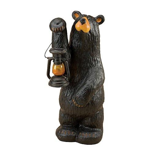 Black Forest Decor Koleman Grand Bear with Lodge Lantern
