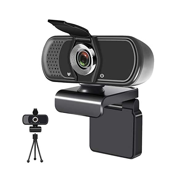 Youpeck 1080P USB Webcam built-in noise-reducing includTripod Stand