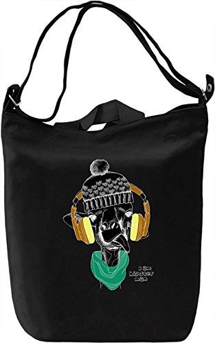 Cute Girafe Borsa Giornaliera Canvas Canvas Day Bag| 100% Premium Cotton Canvas| DTG Printing|