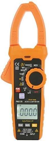 Yadianna 精密機器PM2128 AC/DC電圧電流クランプメータハンドヘルド・デジタルツール抵抗容量