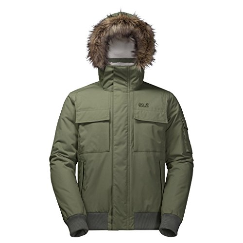 Brockton Green Pt Jacket Men's Wolfskin Woodland Jack EqnP7wT