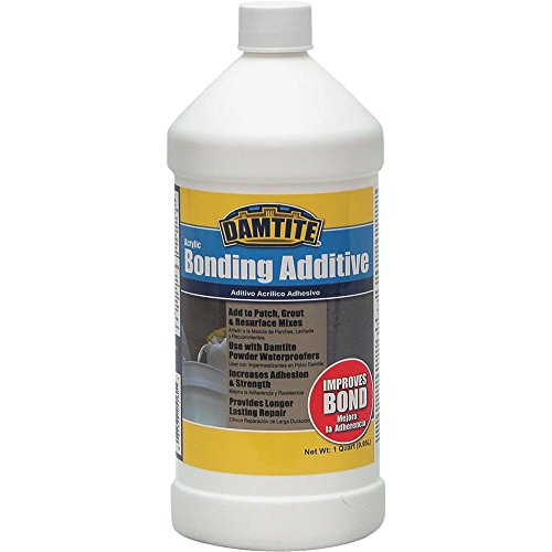 Damtite 05160 Acrylic Bonding Additive, 1 Quart (Modified Thin Set Mortar)